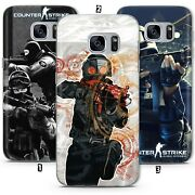 Shooter Multiplayer Video Game Cs Go Case Cove Galaxy S6 S7 S8 S9 S10 S21 Huawei