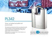 Abloy Protec2andtrade Pl 342-t High Security Shrouded Shackle Padlock W/2keys And Card