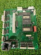 Benchmark Pcb For A Wheel Deal Ticket Redemption Arcade Game - Untested