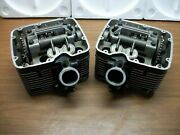 Oem 2002 Victory V92 Front Rear Cylinders Cylinder Head Pair 5630685 5630684
