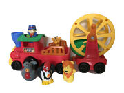 Fisher-price Little People Animal Circus Train With Animals