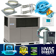 2.5 Ton 14 Seer Airquest-heil By Carrier Package Ac Heat Pump Unit   Install Kit