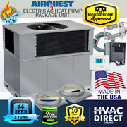 3 Ton 14 Seer Airquest-heil By Carrier Package Ac Heat Pump Unit | Install Kit