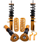 Assembly Coilovers Shocks And Springs For Bmw X5 E53 2000-2006 Adj. Height Struts