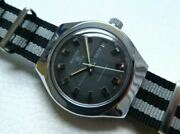 Sicura 25 Jewels Cal.158 Automatic Winding Rare Antique Watch Shipped From Japan