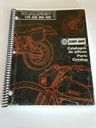 Can-am Qualifier 3 175 250 350 400 Parts Book Eng + French Free Ship Us+canada