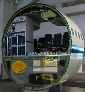 Md90 Aircraft Airplane Fuselage Sections