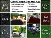 8and039 X 20and039 Colorful Indoor/outdoor Turf Runners / Great For Gazebos Decks Patios