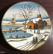 Vintage Veneto Flair Christmas Card Series 1977 Plate Tiziano Italy Number 2684