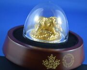 2017 Majestic Animals 100 Coin Sculpture - Grizzly - 10 Oz Silver - Gold Rcm