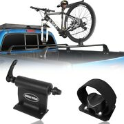 Alloy Bike Bicycle Car Roof Rack Carrier Quick-release Fork Lock Mounted Racks