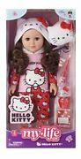 New 2020 My Life As 18€ Poseable Hello Kitty Doll Brunette Hair