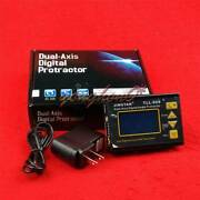 Digital Laser Level Protractor Angle Finder Meter Hi-accuracy 0.005anddeg Tll-90s