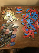 Wholesale Lot Of Solid Bras And Metal Namesake Keychains
