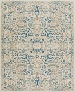 Modern Area Rugs For Living Room 7x10 Distressed Blue 5x7 Floor Carpet