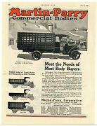 1920 Martin Parry Commercial Bodies Ad On Maxwell Chassis - York Pennsylvania