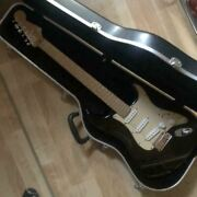 Fender Usa Deluxe Amedela 60th Strat Electric Guitar Made In Usa W/ Hard Case