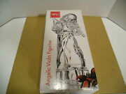 Mikasa Herald Collection Full Lead Crystal Angelic Violin Figurine Germany New