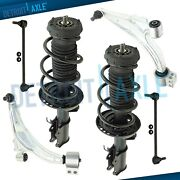 6pc Front Struts Lower Control Arms Sway Bar Links For 2012 - 2017 Buick Verano