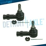 2pc Front Outer Tie Rod Ends For 1987 - 1999 Mitsubishi 3000gt Van Dodge Stealth