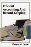 Efficient Accounting And Record Keeping Wiley Small Business Series