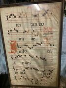 Sheep Skin Early Rare Sheet Music Missal Innocence Of The Child Spain