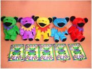Rare Kyowa Grateful Dead Bear Made In Philippines 1990 Lot Of 5 Plush Toy Japan