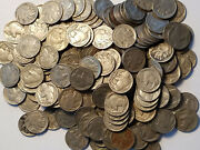 40 .05 1913-1938 Buffalo Nickel Full 4 Digit Date Roll Lot Mostly 30and039s