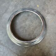 Vintage 1940and039s Ford Beauty Trim Ring Wheel Lowrider Bomb Ford Accessory Flathead