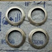 Vintage 1940-1948 Ford Accessory Beauty Trim Rings Wheel Flathead Deluxe Mercury