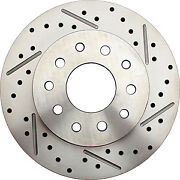 64-72 Gm A Body 10/12 Rear Disc Brake Kitkit W/ Drilled And Slotted Rotors