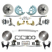 62-67 Chevrolet Nova Front And Rear Standard Disc Brake Conversion Kit