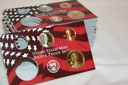 Lot Of 20 Partial Proof Sets With 2006 Cent Nickel And Sacagawea Dollar