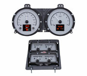 1968 Chevy Camaro W/console Gauges Hdx System, Silver Face