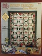 Strip Quilts In A Hurry Patterns Book American School Of Needlework 4153 Vintage
