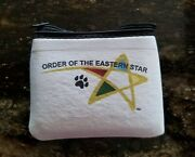 Order Of Eastern Star Coin Or Jewelry Bag Oes Shooting Star Logo New Logo