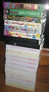 Rare Barney And Friends Vhs Tapes Huge Lot 17 Collectible Htf Vtg Educational