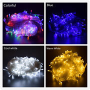 5m 10m 20m 100m Christmas Decoration Led String Fairy Holiday Lights Outdoor