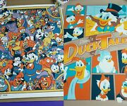 Acme Archives Disney Afternoon Ducktales 18x24 Prints D23 Expo 2013 Signed