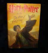 First Edition Us Harry Potter And The Deathly Hallows By J. K. Rowling 2007