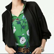 Cabi New Size Xs Chance Bomber 3731 Black Was 139