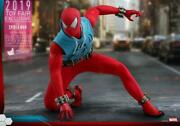 Hot Toys 16 Scale Vgm34 2019 Toy Fair Exclusive Spider-man Scarlet Spider Suit