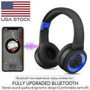 Wireless Bluetooth Gaming Headset Headphones Stereo With Mic For Pc Laptop Usb