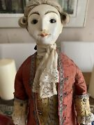 Queen Anne Wood Doll By Peter Wolf Dangerous Liaisons Maurice Edt 1/10
