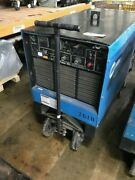 Miller 450 Amp Pulstar 450 Constant Potential Dc Mig Power Source On Cart
