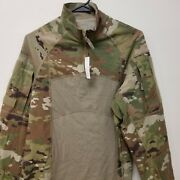 Ocp Scorpion Army Issue Acs Type 2 Zippered Combat Top Large Nwt Bl
