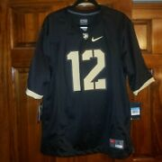 Nike Menandrsquos Army Black Knights Game Football Jersey Size M Ncaa Screen Printed