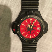 Rare Hunting World Red Dial Vintage Men's Watch Shipped From Japan