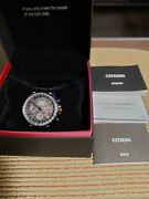 star Wars Citizen Eco-drive Satellite Wave Gps Limited Watch Made In Japan