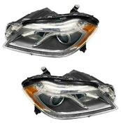Automotive Lighting Pair Set Of Left And Right Headlight Assemblies For Mercedes